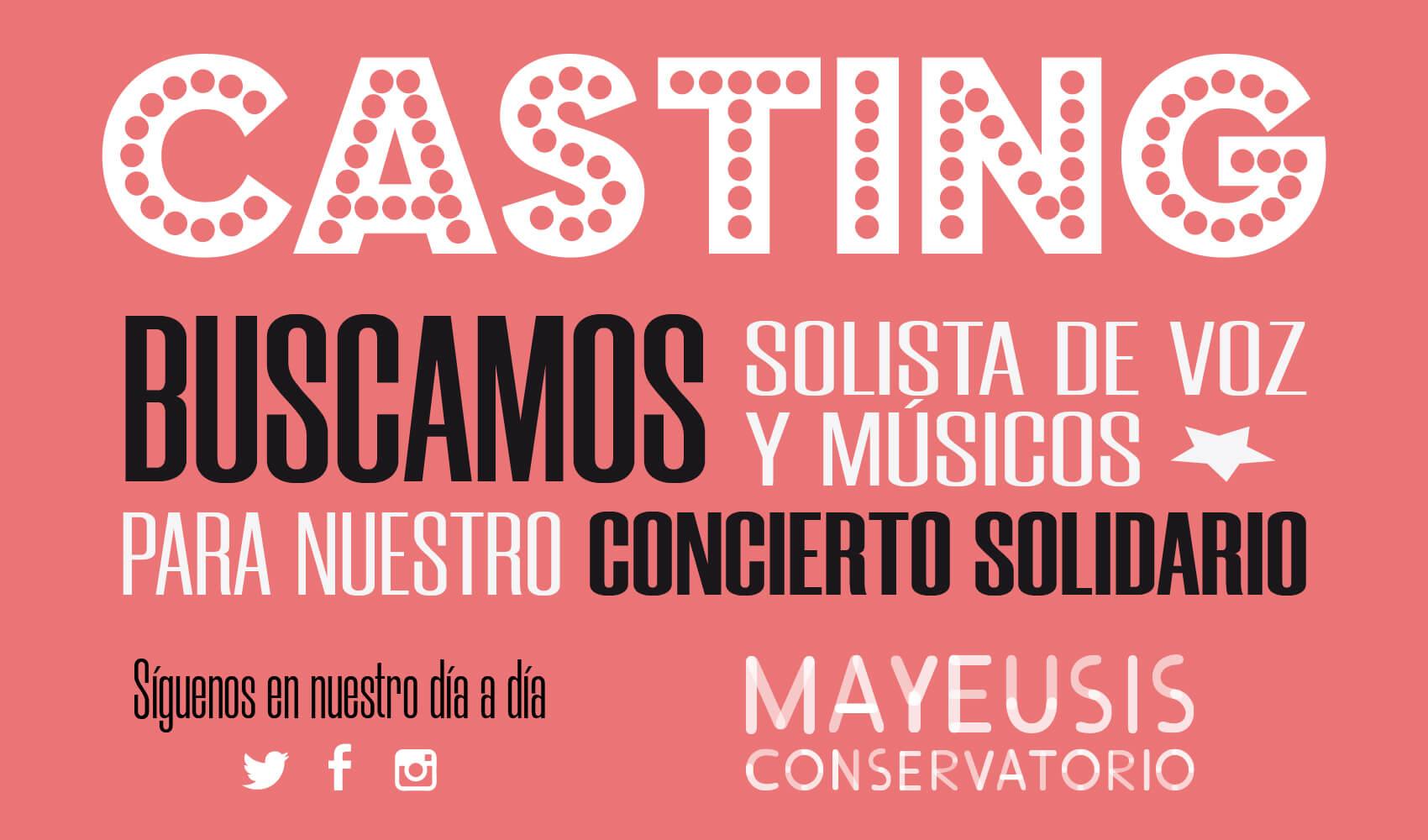casting musical unicef vigo galicia opera musica mayeusis conservatorio luces navidad superior pontevedra